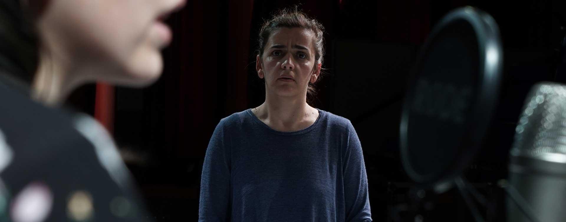 actuación de la actriz en la obra liberto