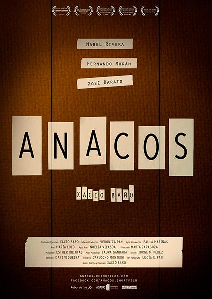 Cartel del film anacos